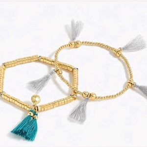 J.Crew Stretch Beaded Bracelets